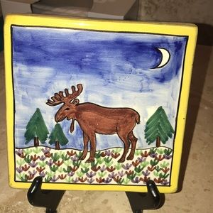 Other - Hand painted decorative tile